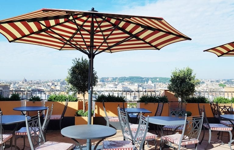 Ristoranti D Hotel A Roma Pierangelini A Hotel De La Ville