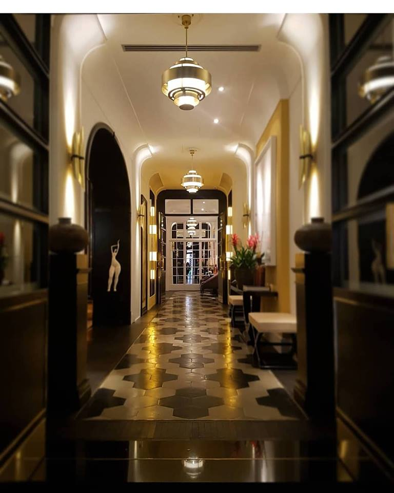 Il corridoio d'ingresso