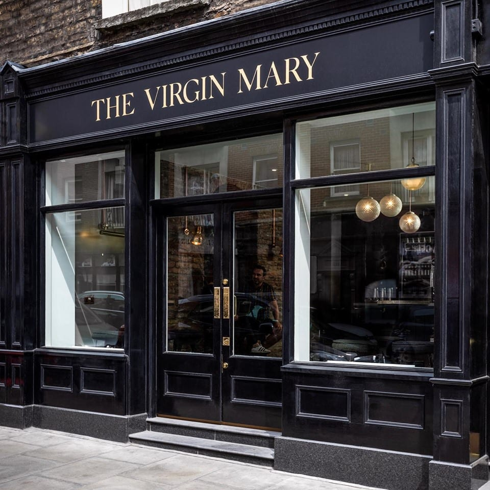 Virgin Mary Bar a Dublino: l'entrata