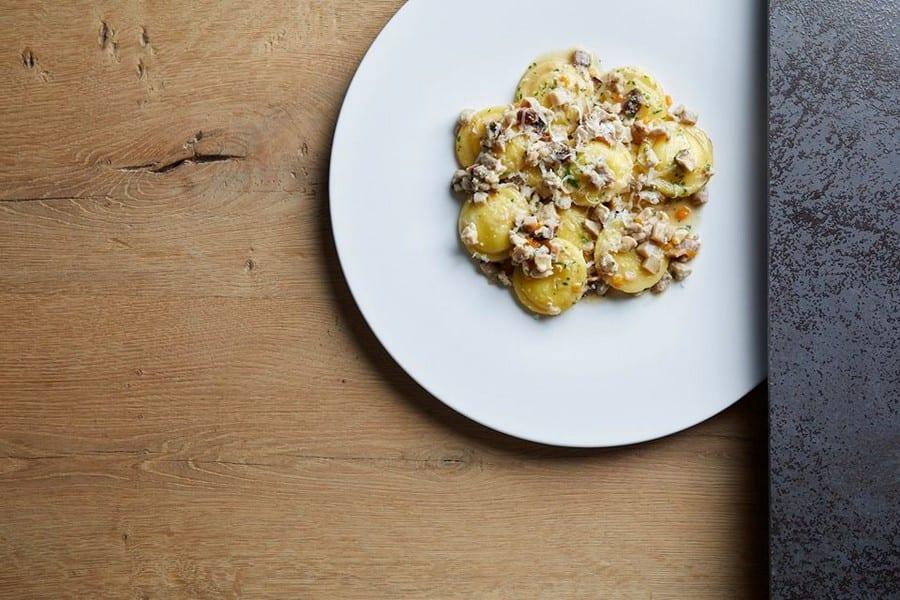 Gnocchi di patate ripieni di Vite a Coriano