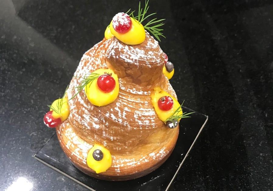 Un dolce della pasticceria Ziva a Milano