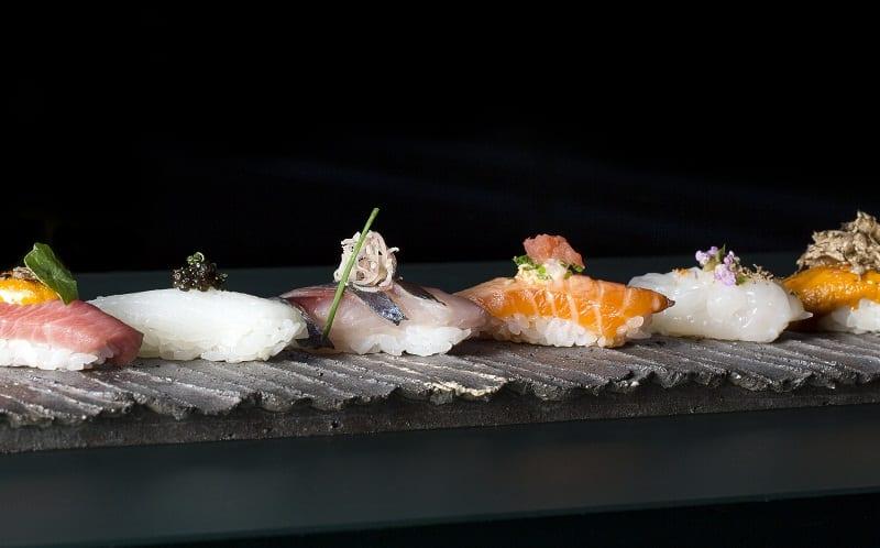 Il sushi servito da Zuma