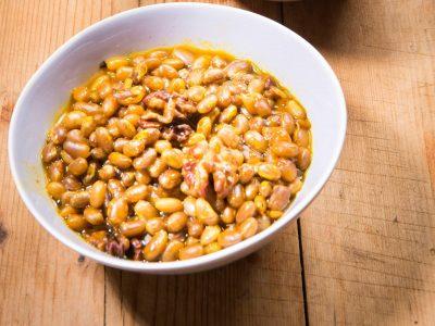 Zuppa di fagioli zolfini